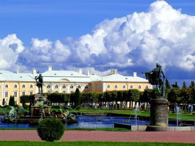Gardens Of Petershof,-St.Petersburg