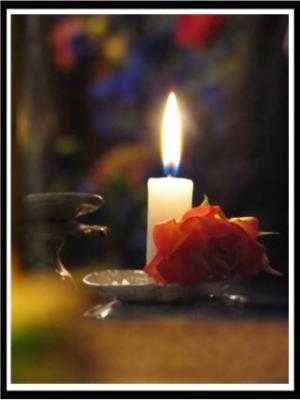 Flowering Candle