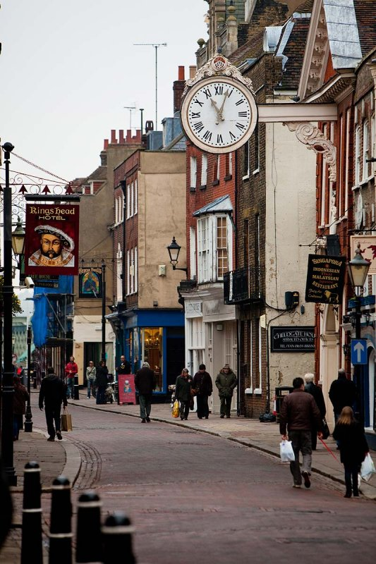 Daytime street scene Rochester