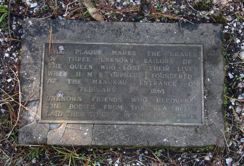 Orpheus Sailors Graves, May 08 9250