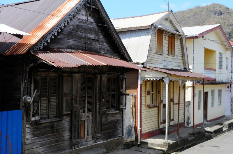 Soufriere Houses