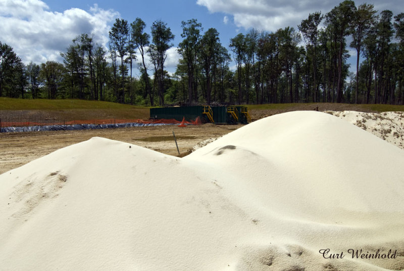 Special Sand for hydrofracing