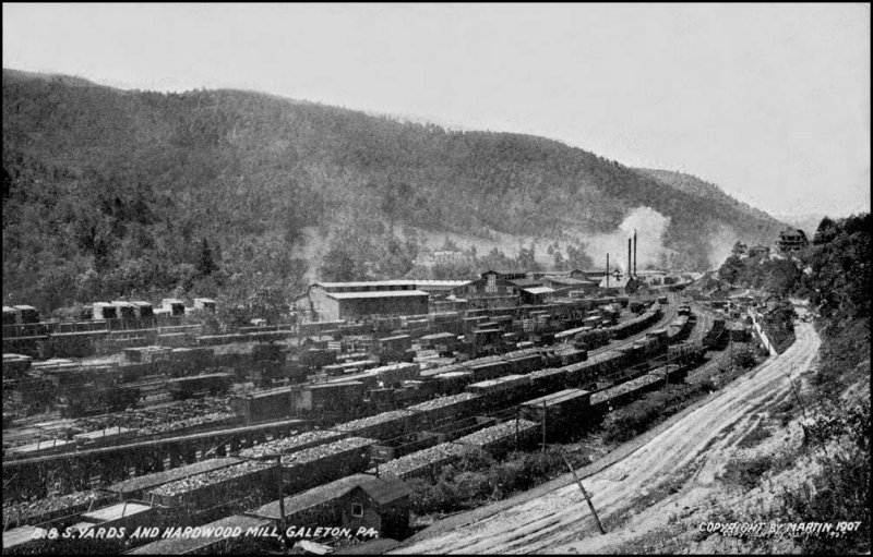 Buffalo & Susquehanna Train Yard, Galeton