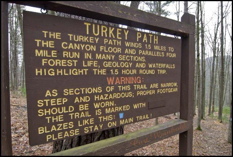 Turkey Path to Four Mile Run