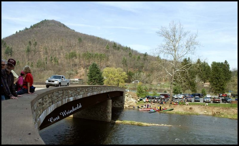 Blackwell bridge & canoe launch