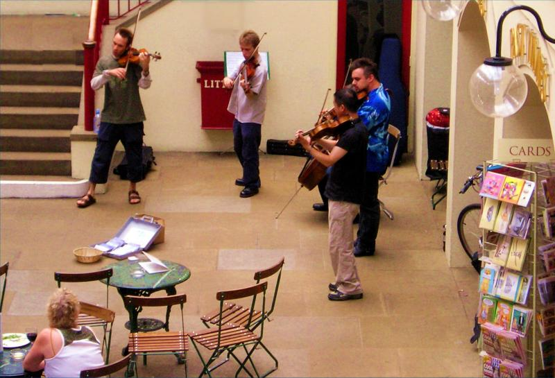 Covent Garden performers