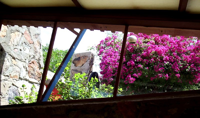 The view from Frank Lloyd Wrights office at Taliesen West
