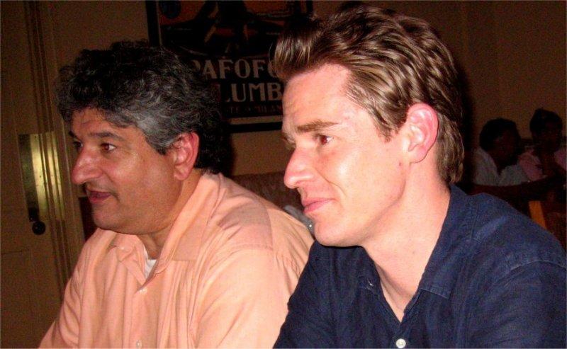 Gary and Justin