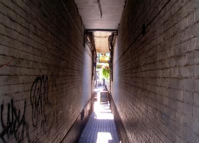 An Oxford corridor