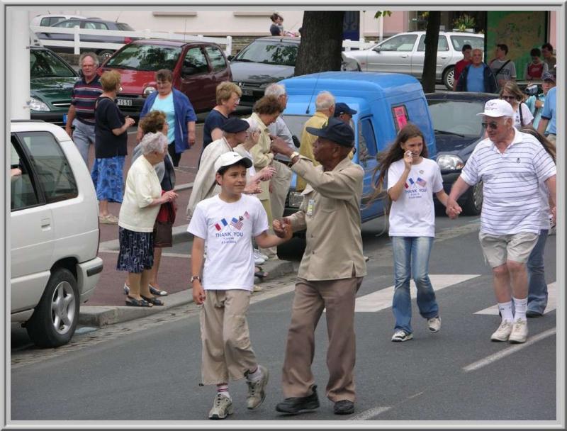 D-day 60th - St-Lô - 29th veterans