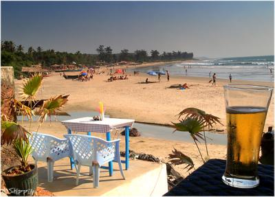 Aramball Beach, Goa.