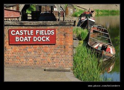 Castle Fields Boat Dock, Black Country Museum