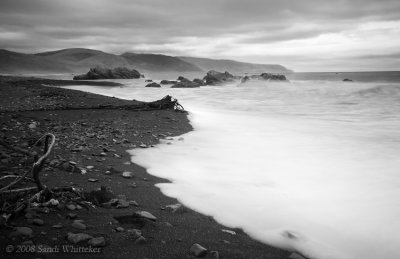Moody Day Along the Northern California Coast