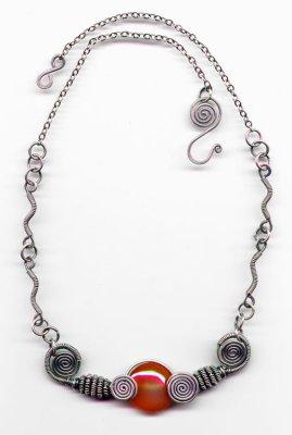 Cornelian Collar Necklace