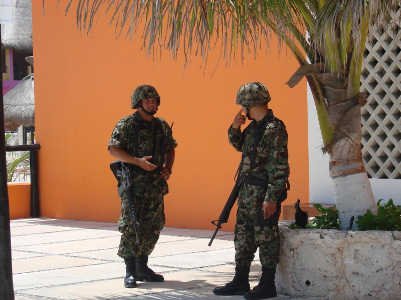 Guards at Work, Puerto Cortes