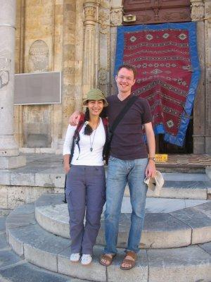 Two German physicists visiting Konya