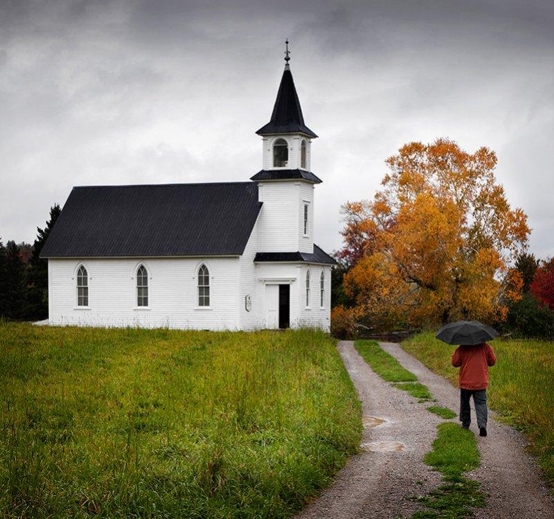 Heading to Church