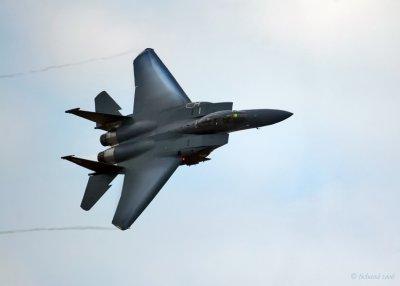 F-15E Strike Eagle Power Turn