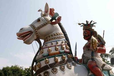 Ayyanar temple on the way to Pondicherry. http://www.blurb.com/books/3782738