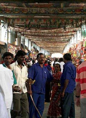 Samayapuram Mariamman temple one of the richest temples in India. http://www.blurb.com/books/3782738