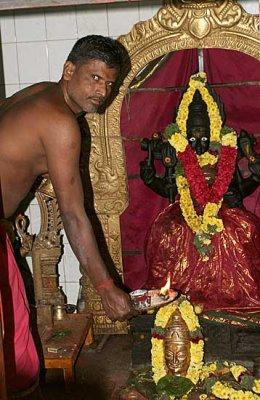 Priest in an Amman temple. http://www.blurb.com/books/3782738