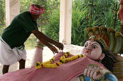 Lying goddess near Salem. http://www.blurb.com/books/3782738