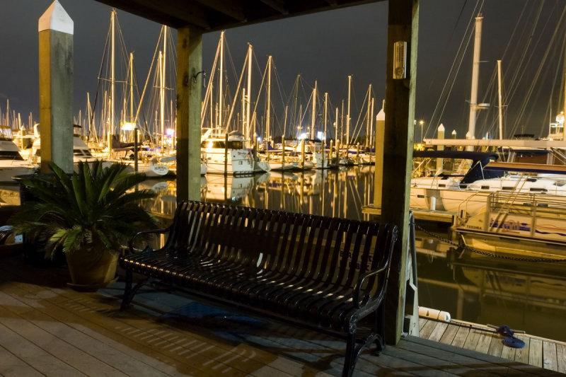 Bench at Marina