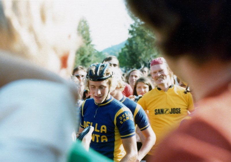 Cats Hill 3. Greg LeMond wins