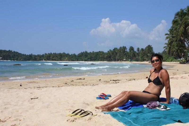 Quiet Beach - Mirissa