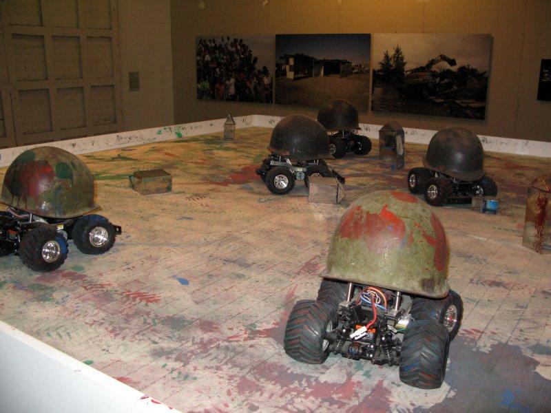 Porntaweesak Rimsakul, RGBs War. 2006.