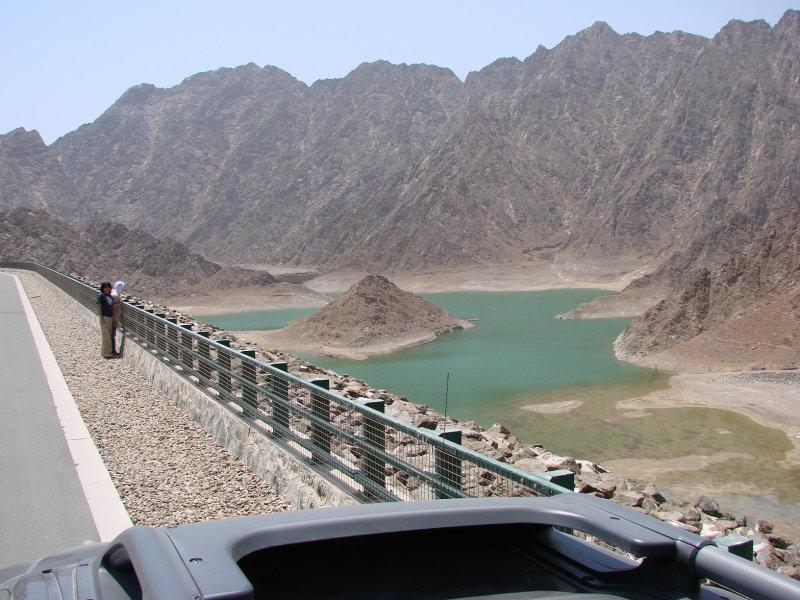 Hatta Reservoir - nggak ada hujan sejak 8 tahun lalu