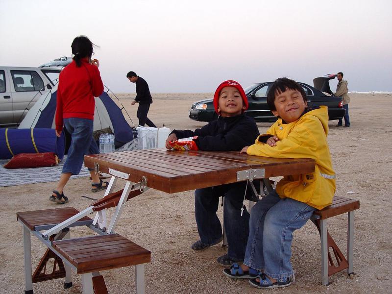 anak2 senang banget diajak Camping