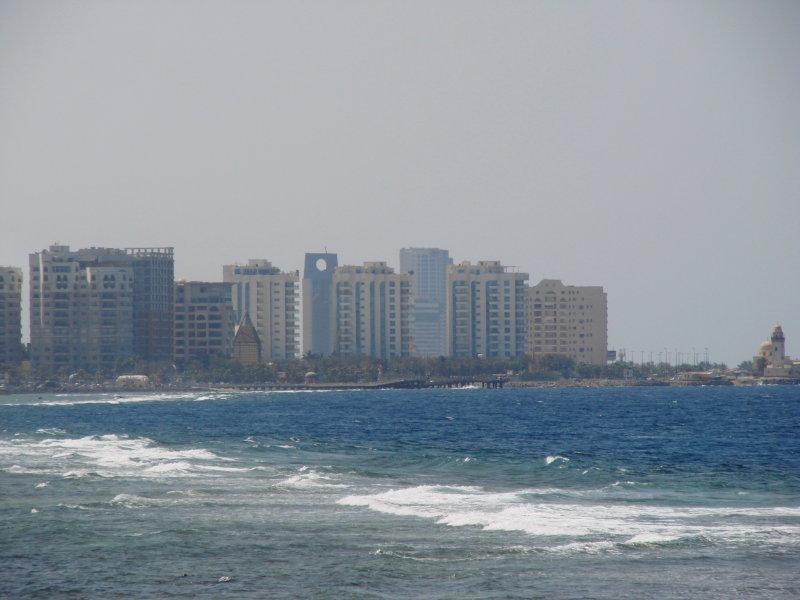 salah satu pojok Jeddah Corniche