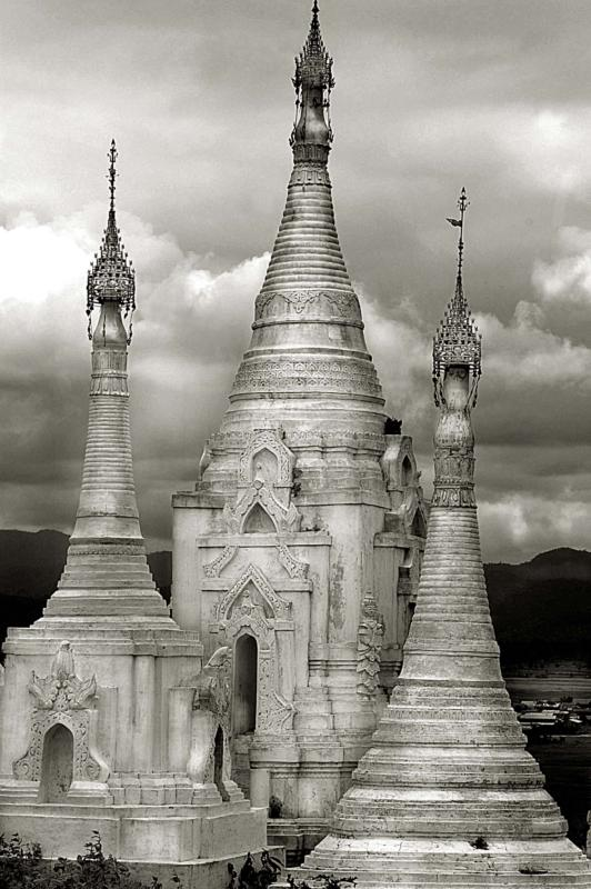 3 towers ~ Chedi Burma