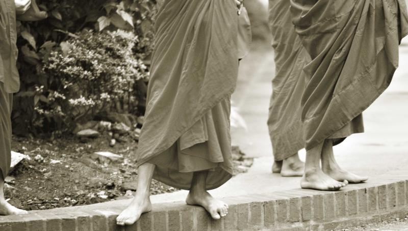 Monks ~ Luang Phrabang