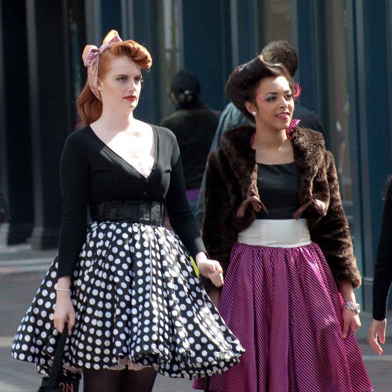 Beauties in Carnaby Street 1