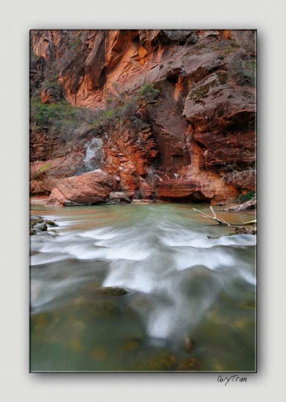 To the Virgin Narrows  - Zion