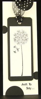 Dandelion tag
