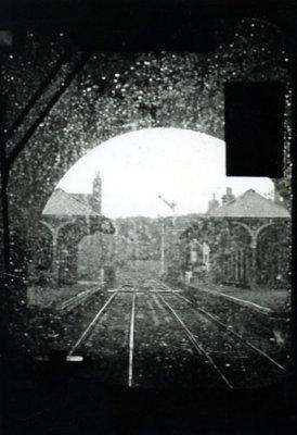 Rainy Train Window  Yorkshire 1981