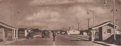 Main Gate circa 1945