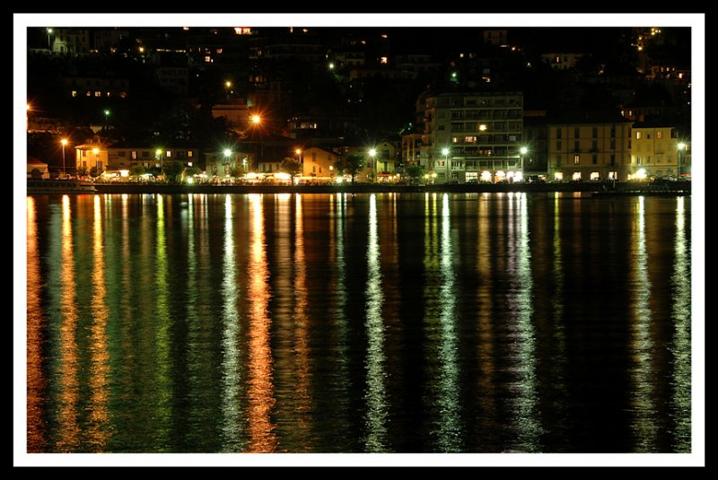 Night Reflections on Como