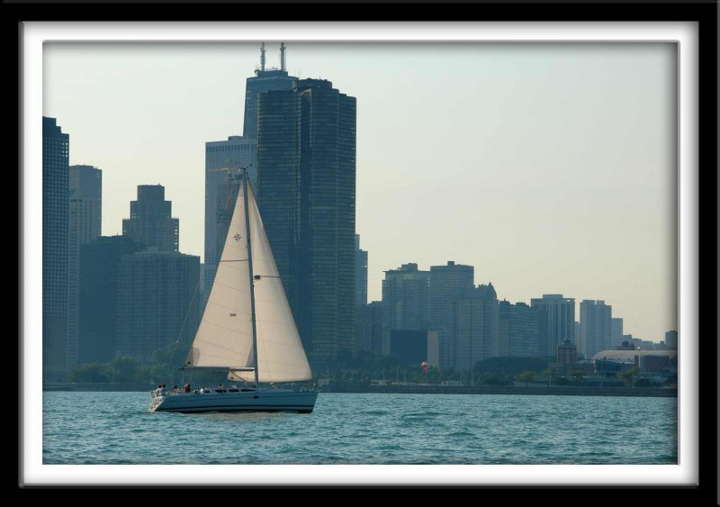 Sailboat and Chicago