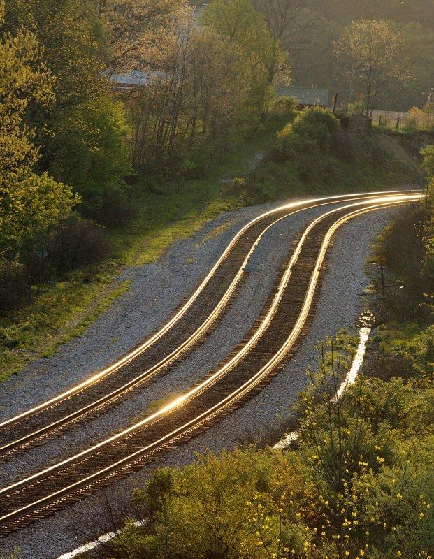 Rail on Fire