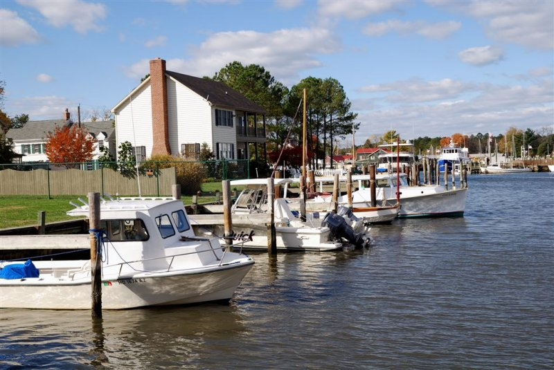Boat Dock St Francis