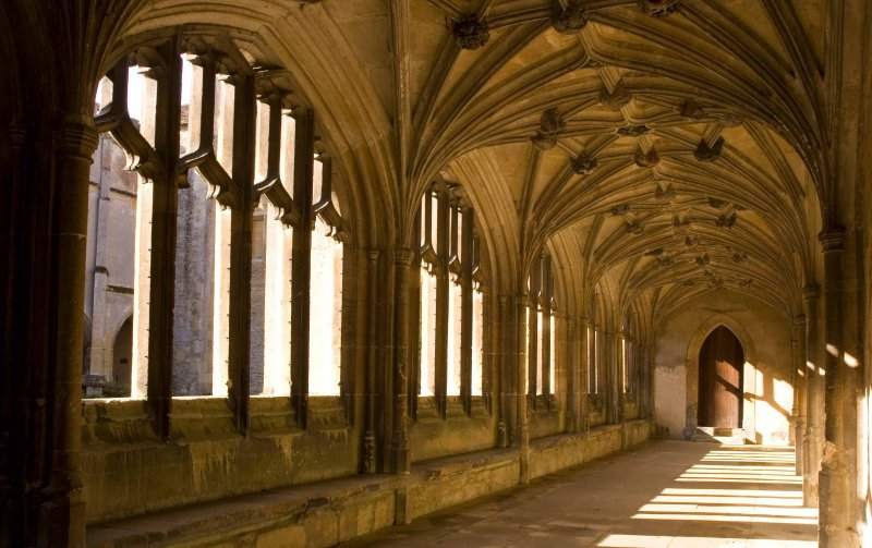 The Cloisters at Lacock Abbey