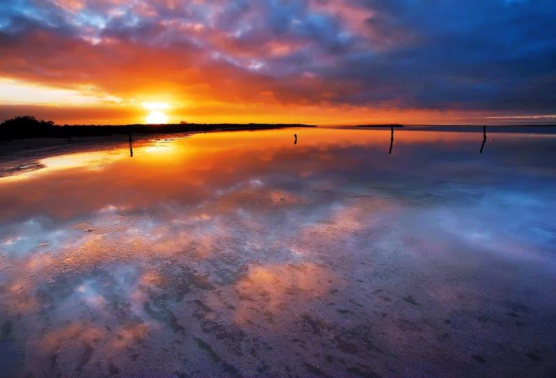 Salt Lake Sunrise