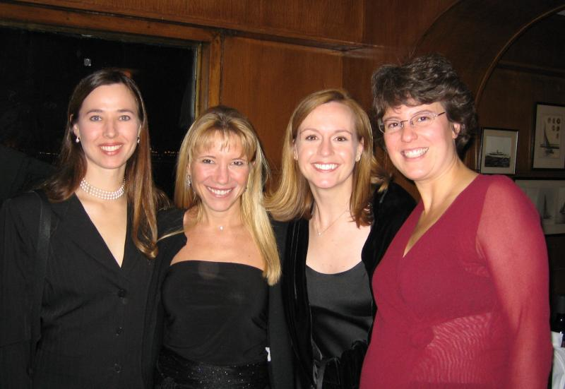 Thea, Lisa, Magy & Shelly, friends for 23 years!