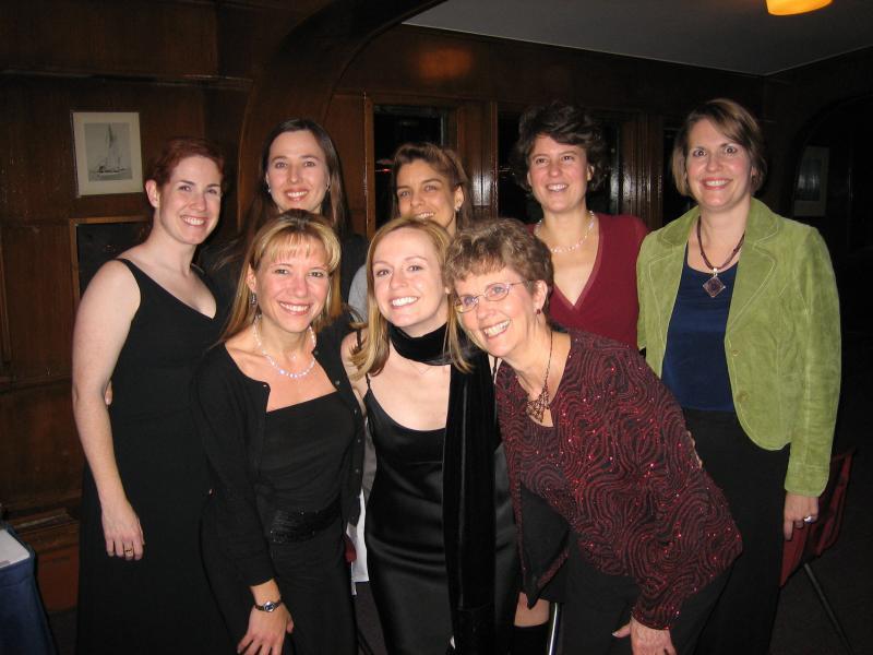 Peg, Thea, Kelly, Shelly, Kim, Lisa, Magy, Sue