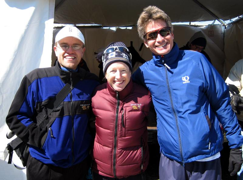 mary must always be in on the action.  all 3 are running western states this year