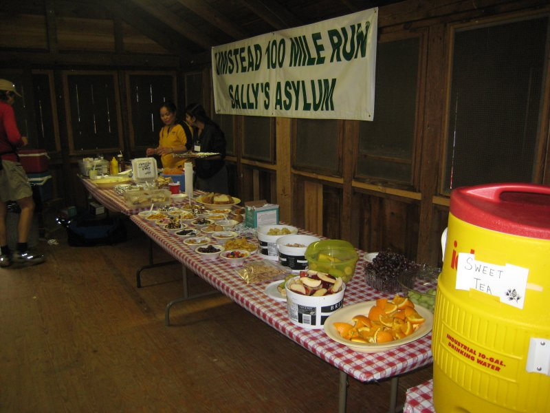 aid station inside